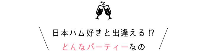 北海道日本ハムファイターズ好きと出逢える!?どんな婚活パーティーなの